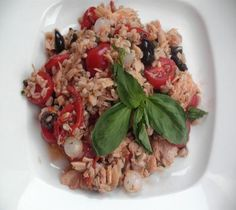 Farro with Tuna and Tomatoes from @Lidia Bastianich #recipe #wholegrains #newyearnewyou