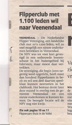 Flipperclub met 1100 leden wil naar Veenendaal. Pinball, Personalized Items