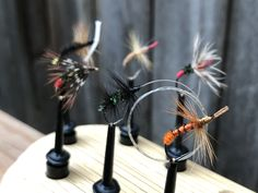 Here is a beautiful selection of Japanese tenkara kebari tied by Yoshikazu Fujioka Fishing Guide, Fly Fishing, Moving To Colorado, Fishing Pictures, Fly Rods, Close Up Pictures, Trout, I Am Awesome, Exotic