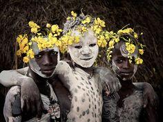 Femmes Karo, Ethiopie (photographie de Jimmy Nelson)