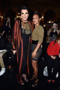 Kris Jenner Photos - Balmain : Front Row - Paris Fashion Week Womenswear Spring/Summer 2016 - Zimbio