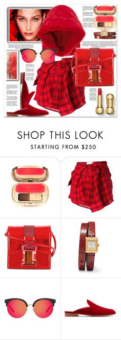 """""""Chilly Evening"""" by dragananovcic ❤ liked on Polyvore featuring Faith Connexion, Christopher Kane, Gucci, Matthew Williamson and Gianvito Rossi"""
