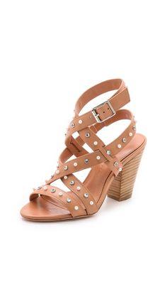 Isa Tapia Turi Pearl & Crystal Studded Sandals