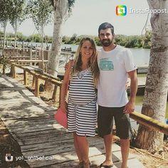 Yoli y Jonathan, ex - concursantes de GH15 pasean su amor y muestran así de radiantes el feliz momento que están viviendo juntos.  Yoli ha elegido nuestro vestido de punto con escote de crochete para un paseo cómodo y fresquito.  Puedes encontrar este modelo y mucho más en @ohma_barcelona.  No te lo pienses más... modelos exclusivos y pocas unidades! #maternidad #ropaembarazada #ropapremama #embarazo #embarazada #nuevemeses #verano #ohmabarcelona