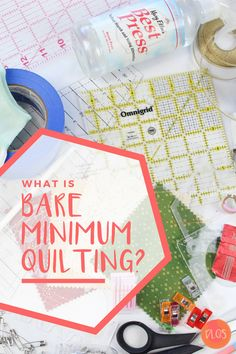 What tools do you really need to get started with quilting as a beginner? I bet it's not as much as you think! Join me on my journey to find out just how few tools you actually need to make a basic quilt.start to finish. Quilting 101, Quilting Tools, Quilting For Beginners, Quilting Tutorials, Quilting Ideas, Beginning Quilting, Modern Quilting Designs, Fat Quarter Quilt, Baby Quilt Patterns