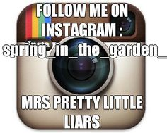 FOLLOW ME ON INSTAGRAM : spring_in_the_garden_ MRS PRETTY LITTLE LIARS  (courtesy of @Pinstamatic http://pinstamatic.com)