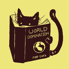 If cats could read.....