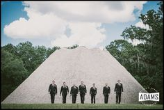 Mission San Luis Wedding | Groomsmen | Allen Adams Photography