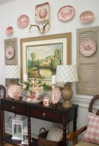 60 Lasting French Country Dining Room Decor Ideas February Leave a Comment French country style is charming, elegant and rather budget-savvy because you can use flea market finds here. French Country Dining Room, French Country Bedrooms, French Country Cottage, Country Farmhouse Decor, French Country Style, Country Kitchens, Country Living, Shabby Cottage, Cottage Chic