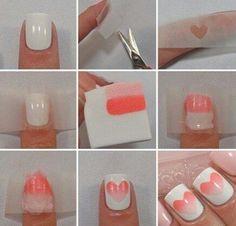 How to make a nice nails to the Valentine's day كيف يمكن أن تحصلي على أظافر جميلة ليوم الحب..