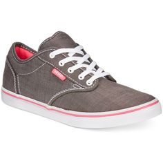 f724a84b9a8 Vans Women s Atwood Low Lace-Up Sneakers ( 29) ❤ liked on Polyvore featuring