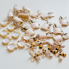 CHARMS. Charms, Card Making, Scrapbook, Scrapbooking, Handmade Cards, Cards To Make, Letter Crafts, Guest Books, Scrapbooks