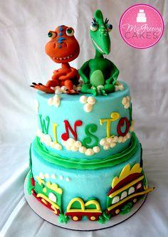 Dinosaur cake Children's Cakes @ McGreevy Cakes