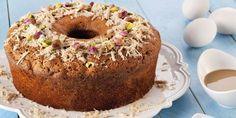Συνταγή για κέικ με ταχίνι και μέλι