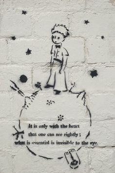 The Little Prince--what a great tattoo this would make!