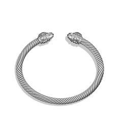 David Yurman Limited Edition Renaissance Bracelet in Gray Aluminum
