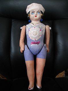 Mexican Papier Mache Doll