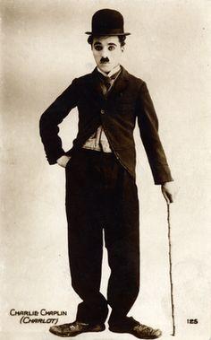 Charlie Chaplin (Charlot).                      Printed in Paris, 1910.