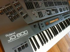 Roland JD800 Studio Gear, Home Studio, Roland Juno, Synthesizer Music, Drum Machine, Electronic Music, Musical Instruments, Third, Software