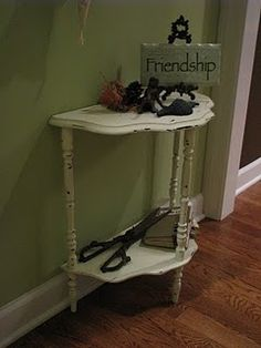 distressed table
