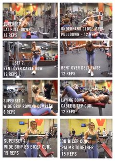 Strength Back and bicep workout-Whitney Simmons