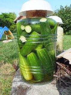 Ízőrző: Kovászos uborka télire Pickles, Cucumber, Fall Decor, Food, Pickling, Essen, Autumn Decorations, Meals, Pickle