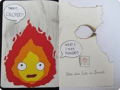 Wreck this Journal - Burn this page