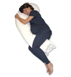 Snoozer Full Body Pillow Hypoallergenic Synthetic Fiber Filler --- http://waif.biz/19i