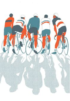 Bicycle meets Graphic Design: Bicycle Art - I don't own any of this pictures. Bike Illustration, Graphic Design Illustration, Cycling Art, Cycling Bikes, Bike Poster, Vintage Cycles, Bicycle Art, Sports Art, Bike Design