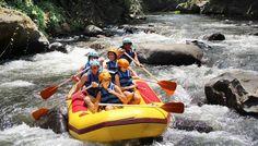 Rafting di Bali dengan pilihan Sungai Ayung sebagai salah satu kegiatan Outing Kantor
