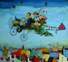 Travelers by Otar Imerlishvili
