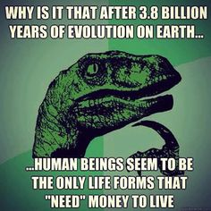 Why money when we have technology and abundance?