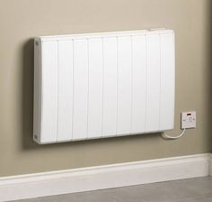 dimplex qrad200 quantum electric radiator with intelligent thermostat 20kw - Designer Electric Wall Heaters