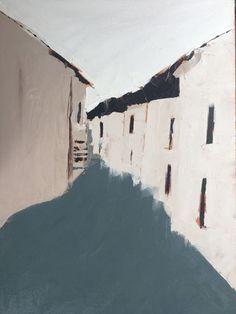 Sandra Pratt | Away | oil on linen