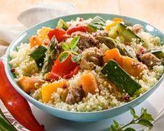 Couscous au Companion - The Best Diet Recipes Couscous Express, Vegetable Couscous, Vegetable Stew, Prep & Cook, Cholesterol Lowering Foods, Cholesterol Symptoms, Cholesterol Levels, Indian Food Recipes, Cobb Salad