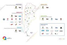 Grupo América: medios, energía y salud privada   Tiempo Argentino   Tiempo Argentino Medical, Map, Littoral Zone, Private Practice, Money Laundering, Group, Health, Location Map, Peta