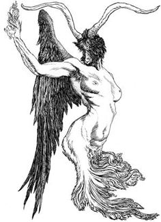 Another Goat Angel figure courtesy of Austin Osman Spare