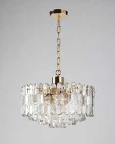 "Kalmar Chandelier (ahl3800) | Remains.com  Current height: 53-3/4"" Minimum height: 19-1/2"" Overall: 20-1/4"" diameter"