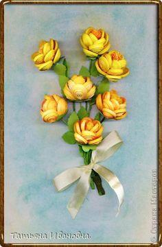 Картина панно рисунок Квиллинг Огоньки по М К osonika Бумага фото 1