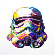 Storm Trooper Painting by Brent Estabrook | BrentEstabrook