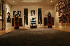 High end audio audiophile speakers hi fi stereo listening room