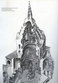 Cupola su cappella della Sacra Sindone. Torino, Guarino Guarini