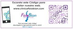 Web FisioBian - Clínica de Fisioterapia y Osteopatía FisioBian