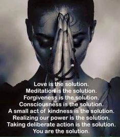 You are the #solution. ~ETS #genius