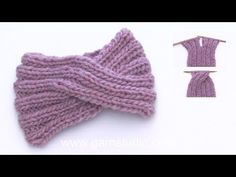 Weekender / DROPS - Free knitting patterns by DROPS Design Design tricot How to knit a head band with a cable mid front. Knitting Stitches, Knitting Patterns Free, Free Knitting, Crochet Patterns, Hat Patterns, Finger Knitting, Knitting Machine, Knitting Socks, Bandeau Torsadé