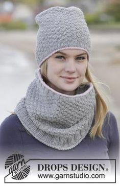 Теплый комплект спицами для женщин, который состоит из шапки и снуда. Шапка вяжется рядами, поэтому имеет задний шов, снуд вяжется...