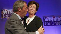 El ultra Farage sí apoya a Trump: Es un macho alfa que dominó a Hillary en su último debate
