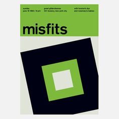 Misfits, 1983 17x23.75 now featured on Fab.