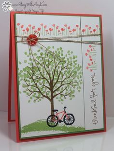 Sheltering Tree - Stampin' Up! - Stamp With Amy K