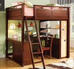 Superieur Full Size Loft Bed With Desk Plans Make Bedtime Fun With A Castle Loft Bed  Or Give Your Student Space To Study With A Desk Loft Bed This Low Loft Bunk  ...